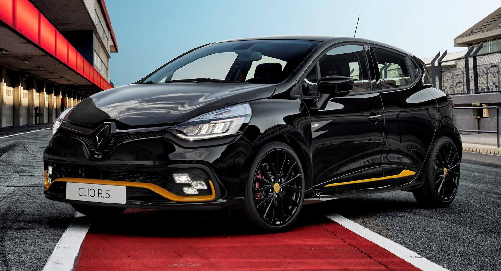 Новитети: Renault Clio R.S. 18 инспириран од Formulа 1 / ФОТО