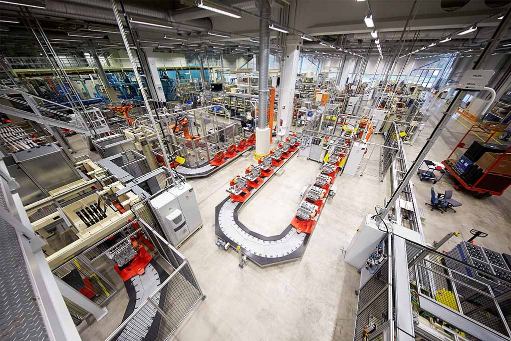 Volvo ја има првата еколошки неутрална фабрика