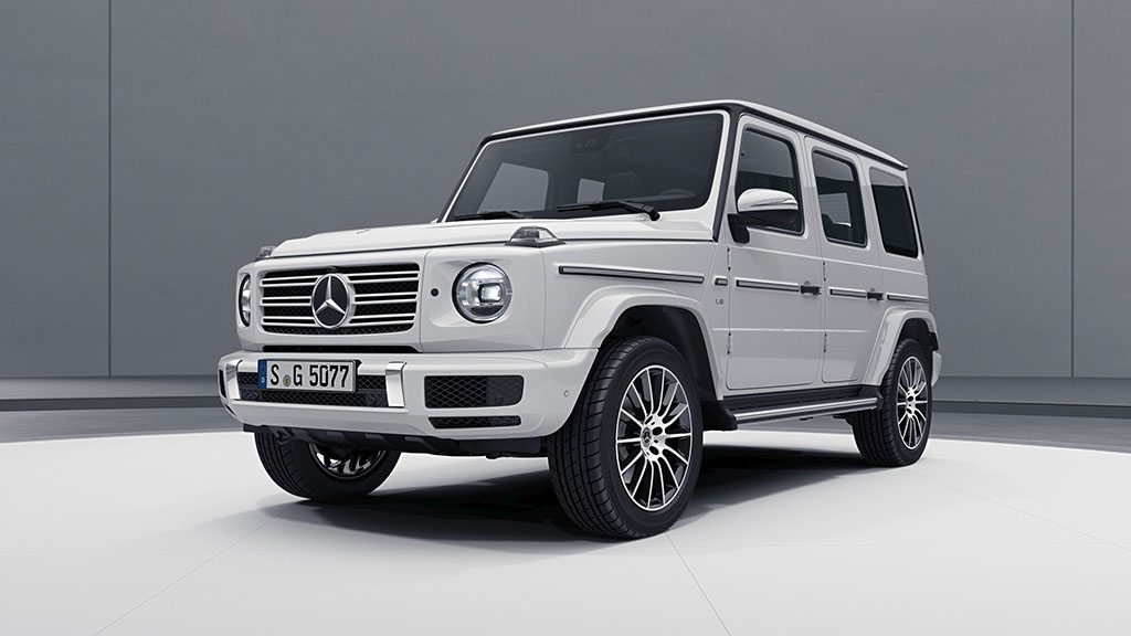 Повеќе стил за Mercedes-Benz G-Class AMG Line