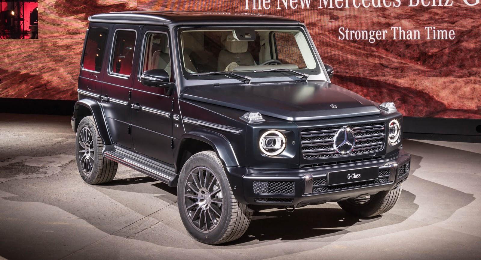 Легендата продолжува да живее: 2018 Mercedes G-Class