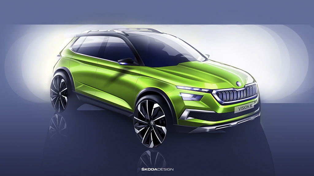 Škoda Vision X концепт во Женева