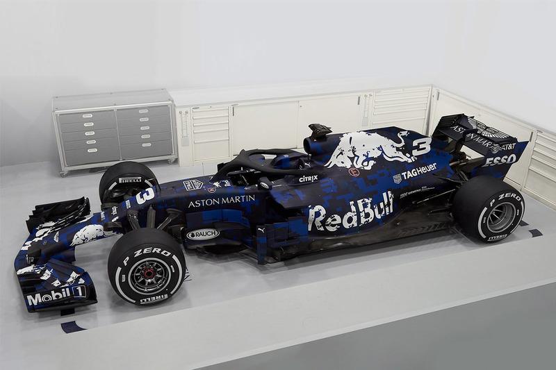 Red Bull го презентираше болидот за новата F1 сезона