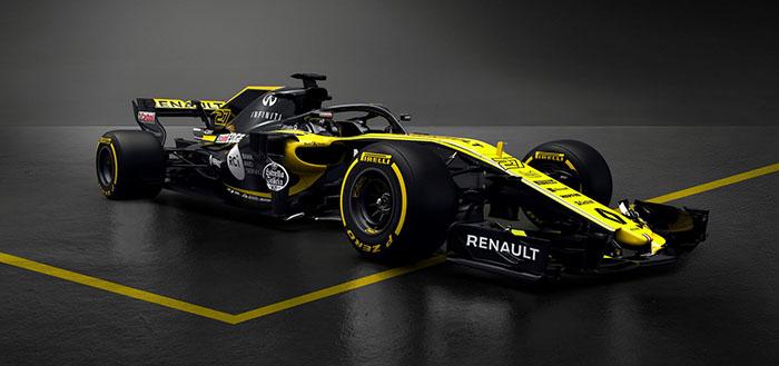 Formula 1: Renault го претстави својот нов болид R.S.18