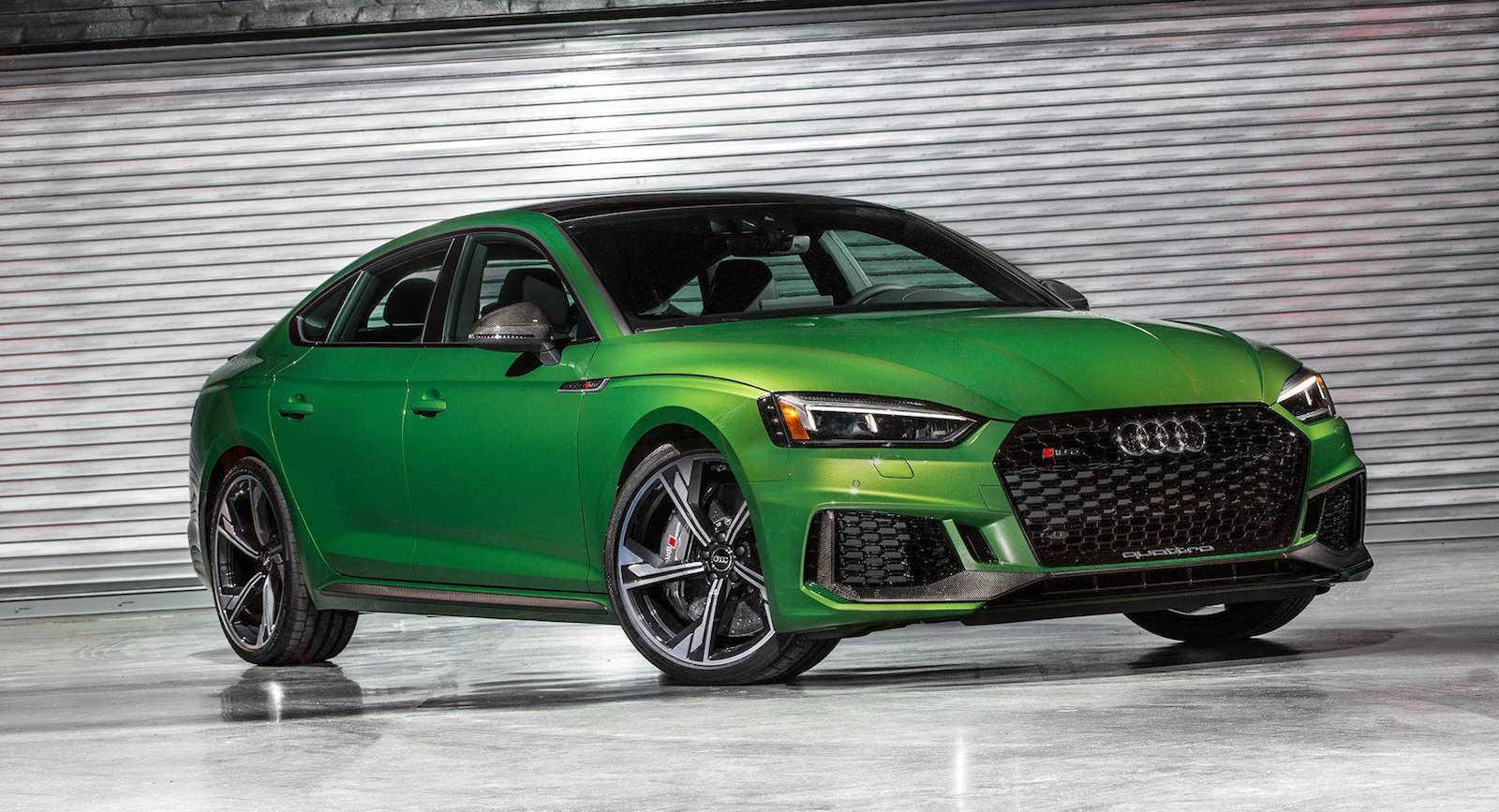 Зелен ѕвер: Audi RS5 Sportback / ФОТО