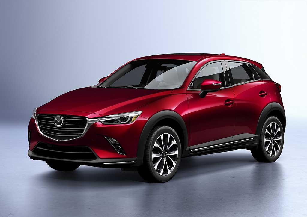 Mazda CX-3 за моделната 2019 година доаѓа со електронска паркирна сопирачка
