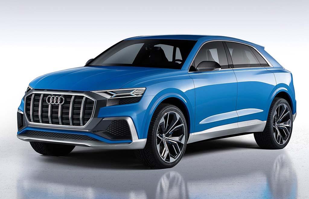Audi Q8 пристигнува во јуни