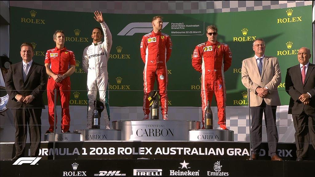 Formula 1: Фетел со подобра тактика го надмудри Хамилтон во Австралија