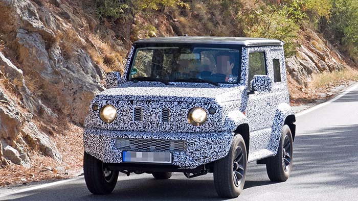 Продажбата на новиот Suzuki Jimny започнува следната година