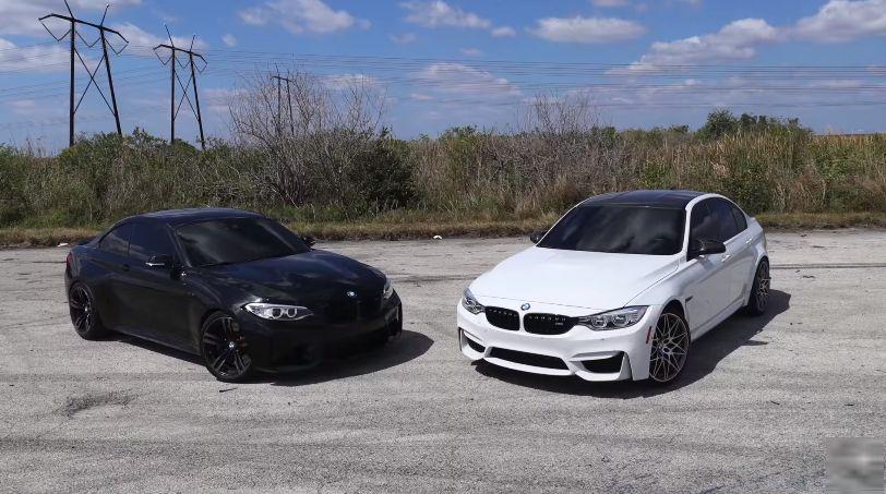 Дилема за фановите на BMW – М2 или М3? / ВИДЕО
