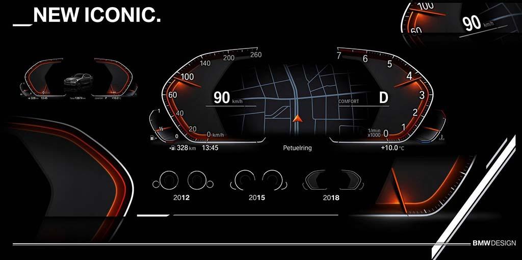 BMW X5 е првиот модел кој ќе го користи новиот iDrive 7.0 инфо-забавен систем