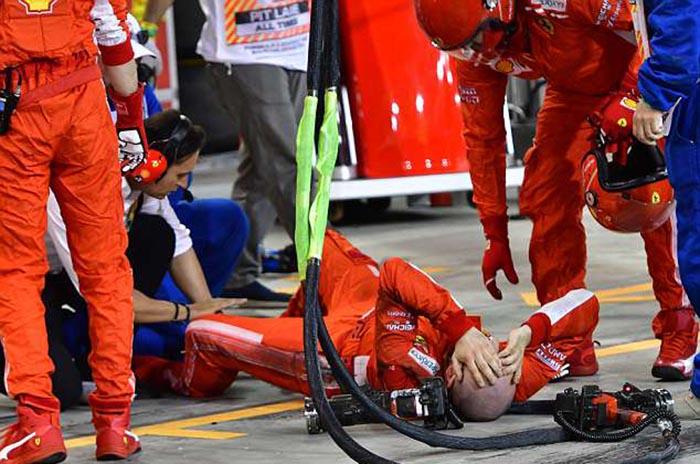 Ferrari казнет со 50.000 евра за инцидентот во Бахреин