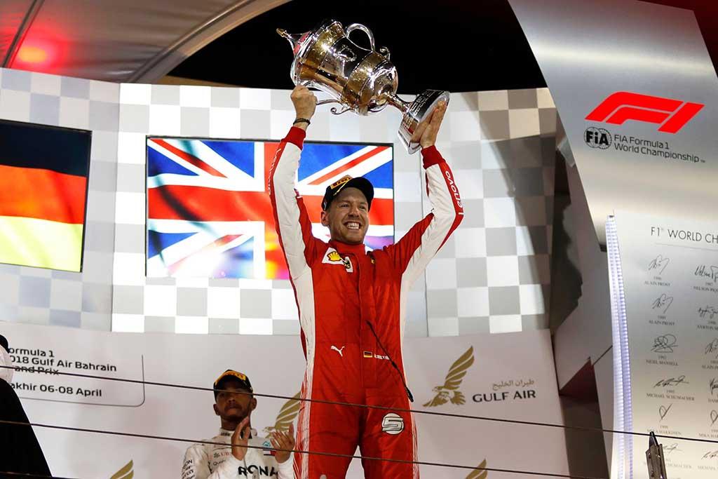Formula 1: Трилер завршница во Бахреин и втора по ред сезонска победа на Фетел