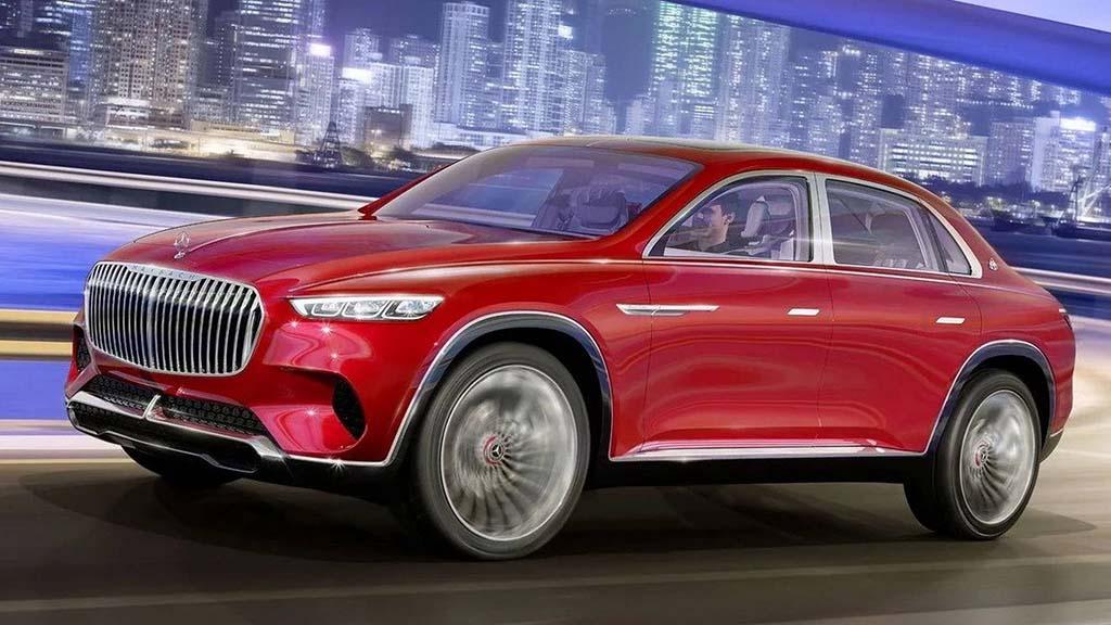 Тотално поинаков: први фотографии од новиот модел на Mercedes-Maybach