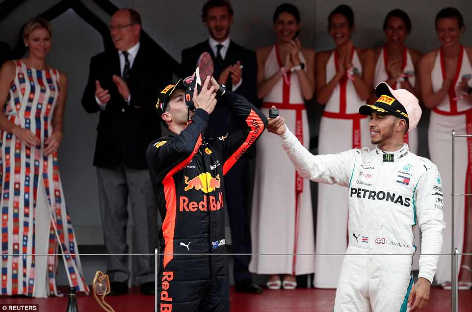 Formula 1: Славје за Рикардо во Монако, Фетел пред Хамилтон на целта