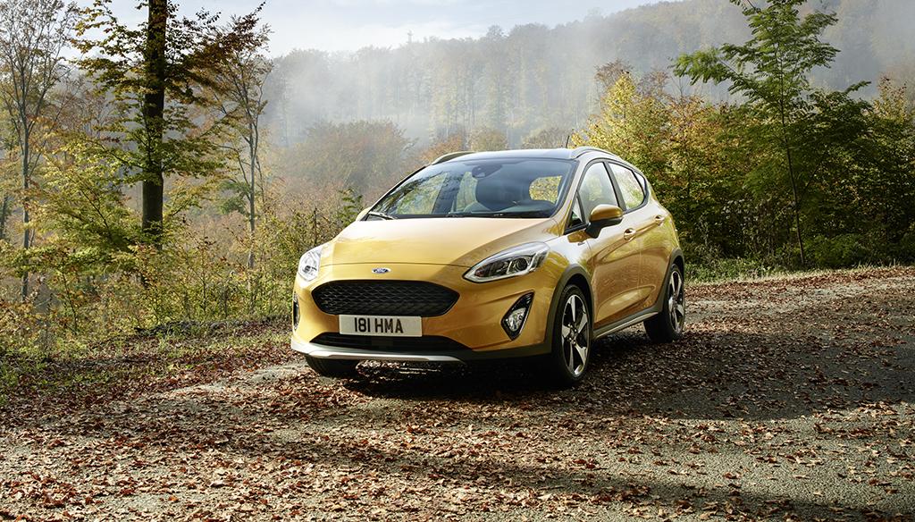 Новата Ford Fiesta Active донесува вистинско SUV и Fiesta возачко искуство / ФОТО