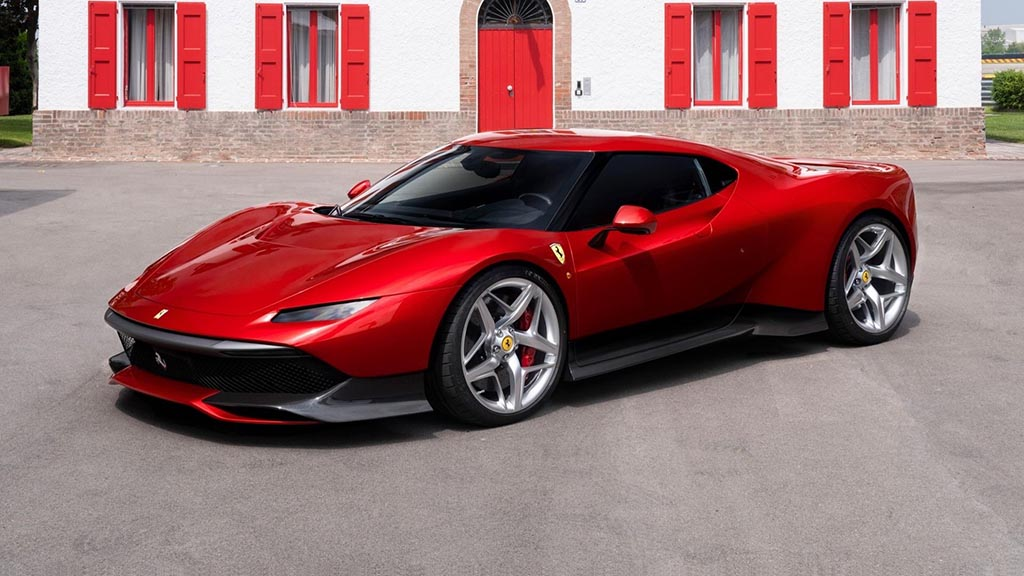 Новото уникатно дело од работилницата на Ferrari / ФОТО