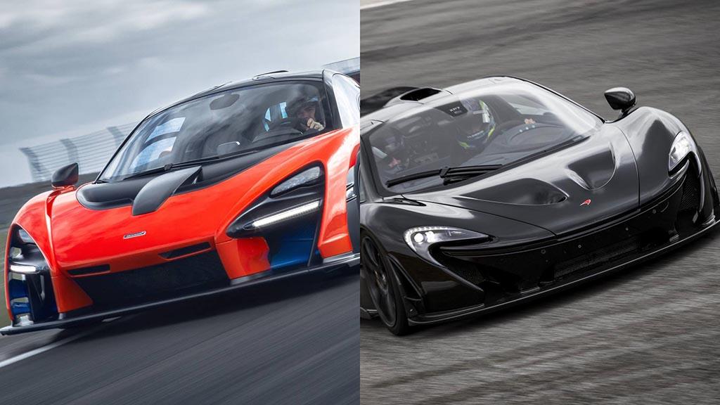 McLaren P1 vs McLaren Senna / ФОТО+ВИДЕО