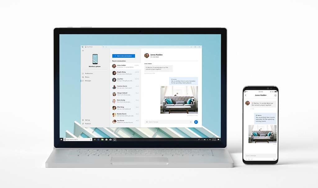 iMessage пристигнува на Windows 10?