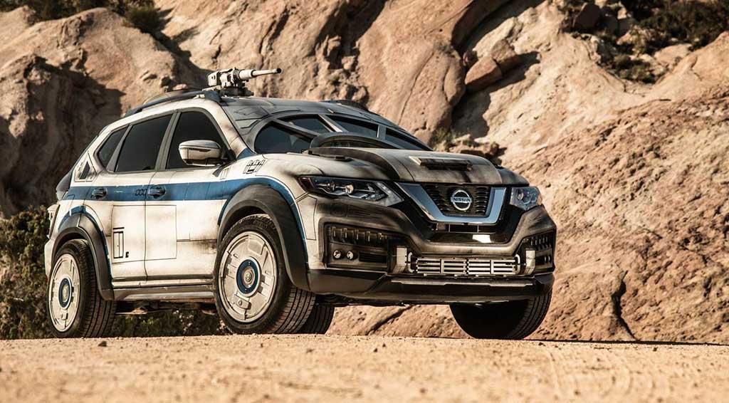 """Уникатен Nissan Rogue како промоција за филмот """"Solo: A Star Wars Story"""""""