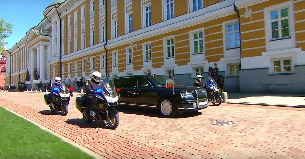 Ова е новата лимузина на Путин / ВИДЕО
