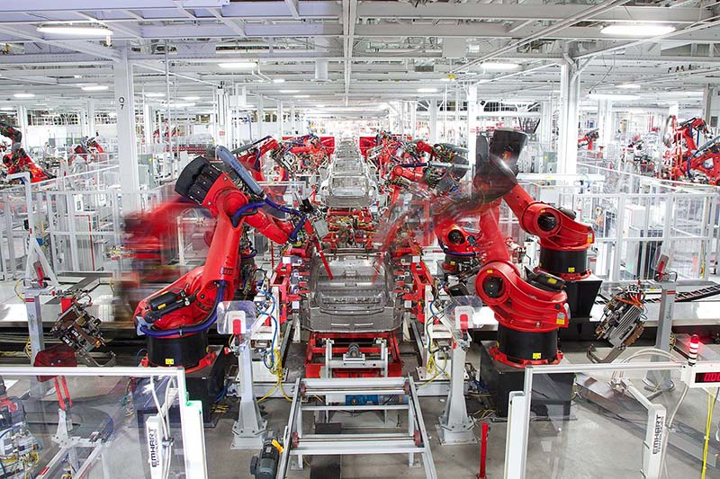 Tesla ќе изработува 500.000 возила годишно во Кина