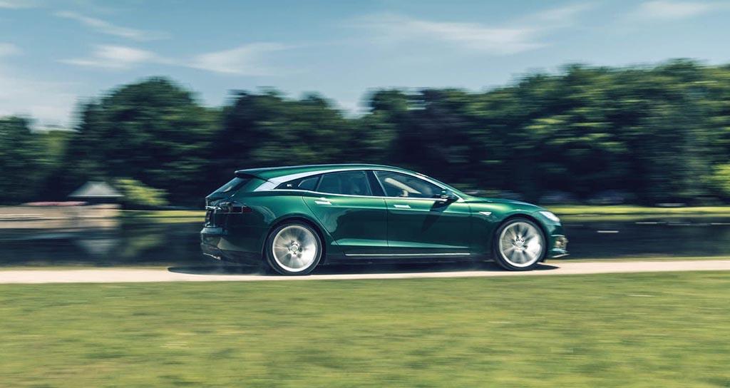 Луксузниот Tesla S доби караван верзија / ФОТО