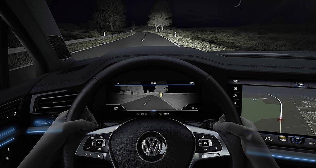"""Volkswagen Touareg """"ќе гледа и ноќе"""""""