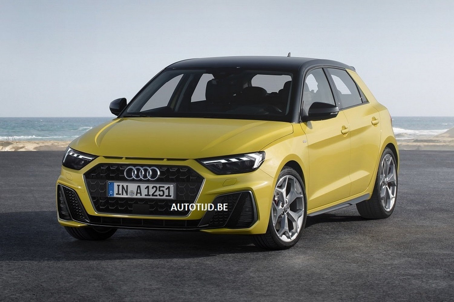 Први фотографии од новиот Audi A1 / ФОТО