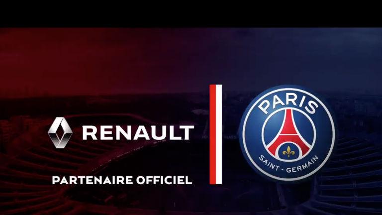 Фудбалските ѕвезди на ПСЖ ѕвезди ќе го рекламираат Renault