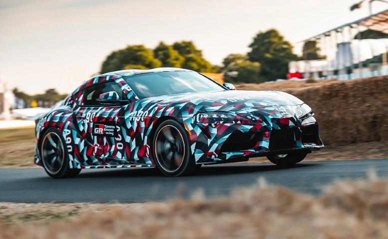 Деби за маскираната Toyota Supra на Goodwood Festival of Speed 2018 / ВИДЕО
