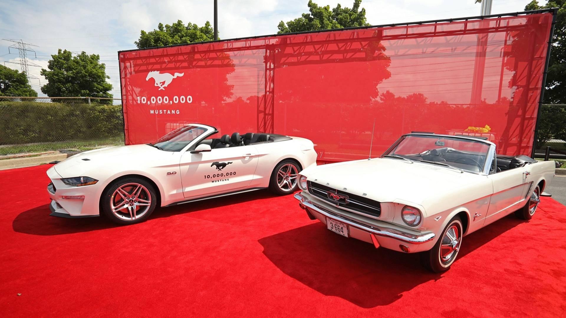 Ford го слави 10-милионитиот Mustang / ВИДЕО