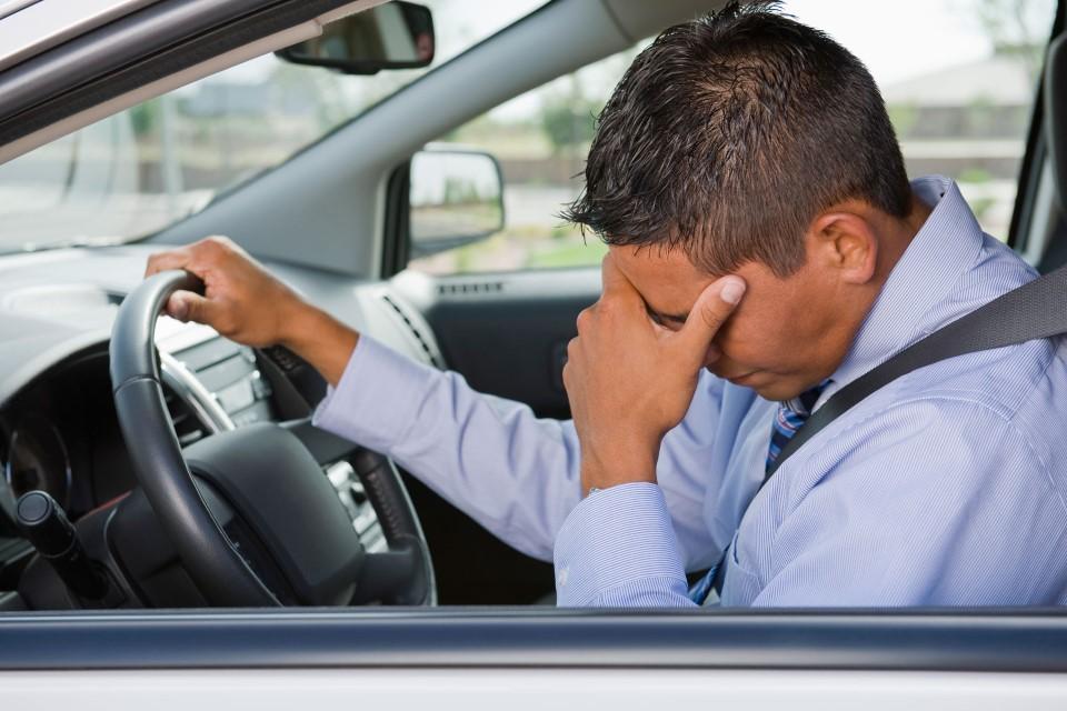Истражување: Не седнувајте зад воланот кога сте под стрес!
