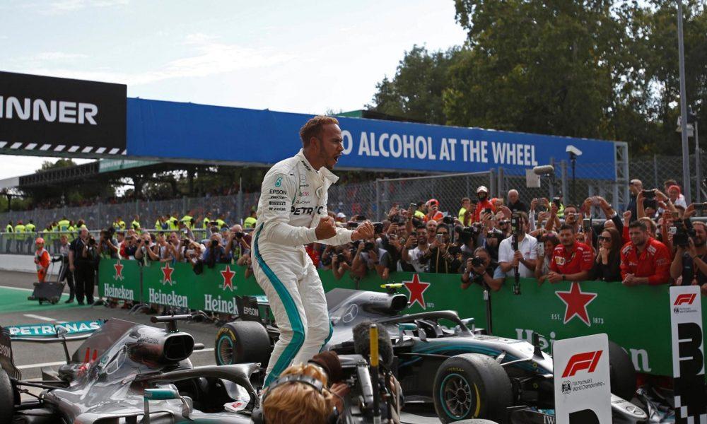 Formula 1: Хамилтон ja покори Монца и ја расипа забавата на Ferrari