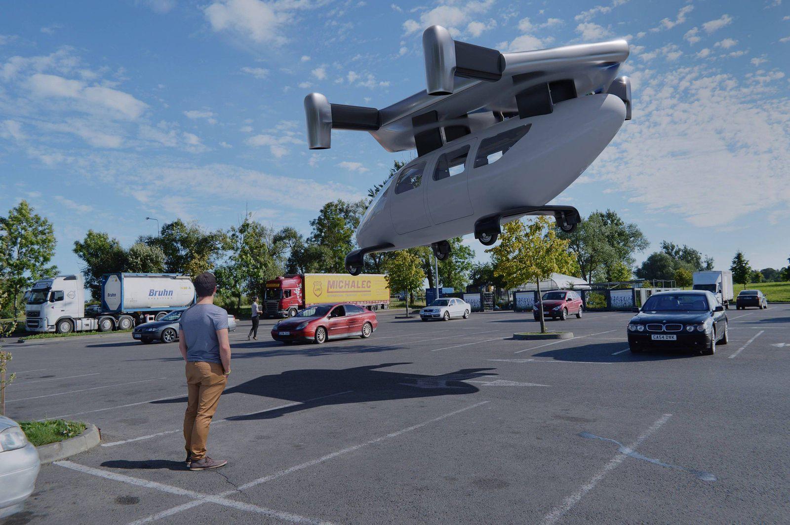 Уште една компанија сака да влезе во трката за изработка на прв летачки автомобил