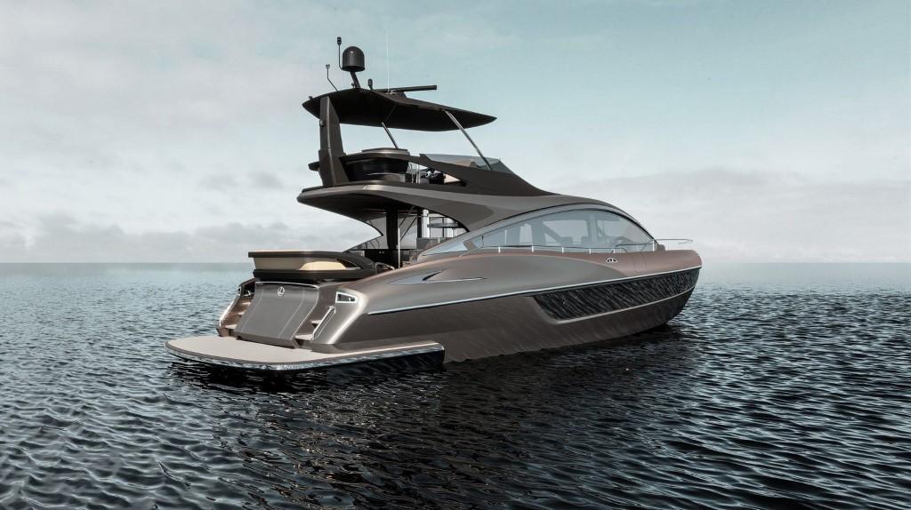 Јахта од Lexus за морски луксуз