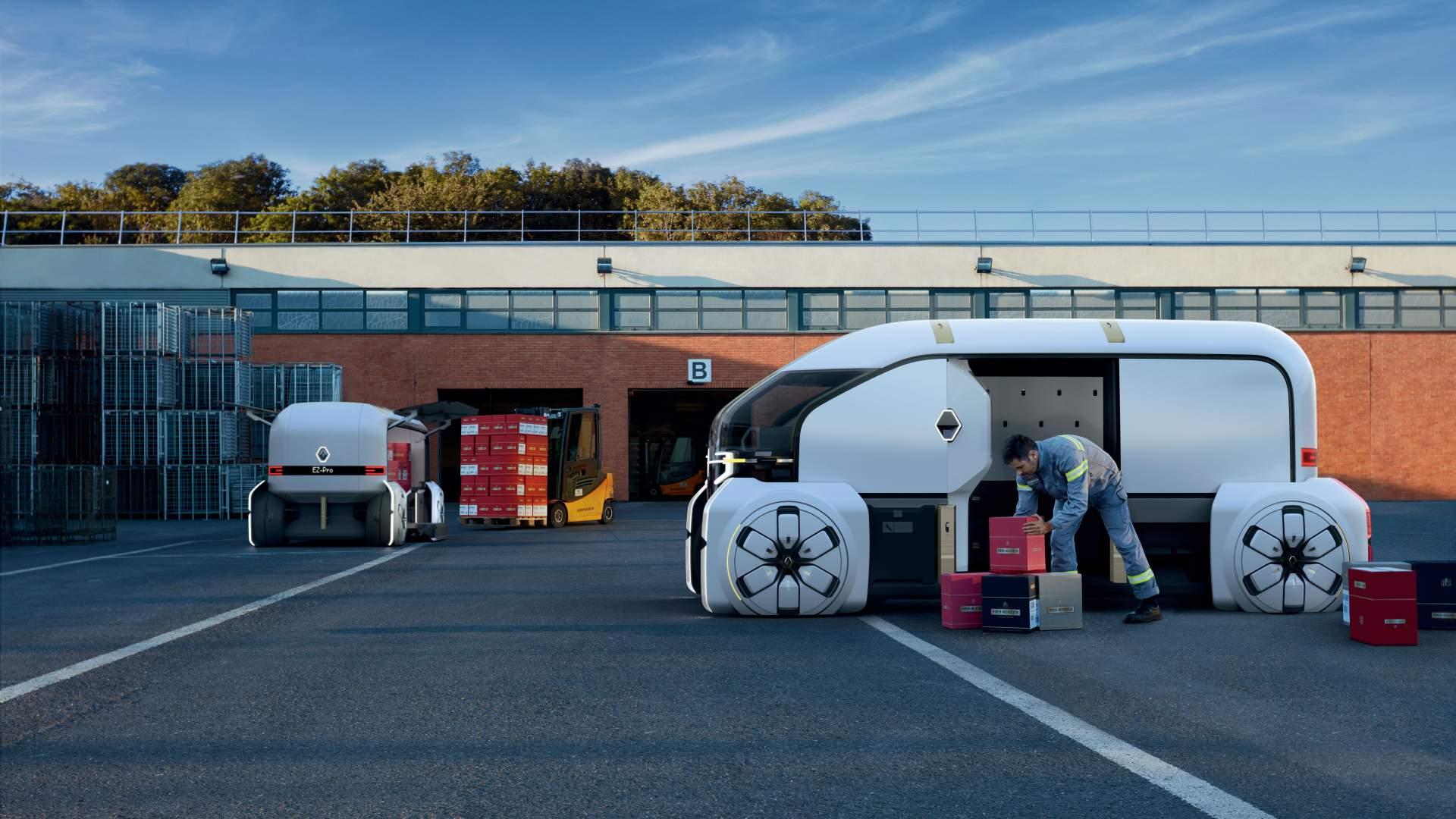 EZ Pro – Визијата на Renault за доставно возило од иднината / ФОТО