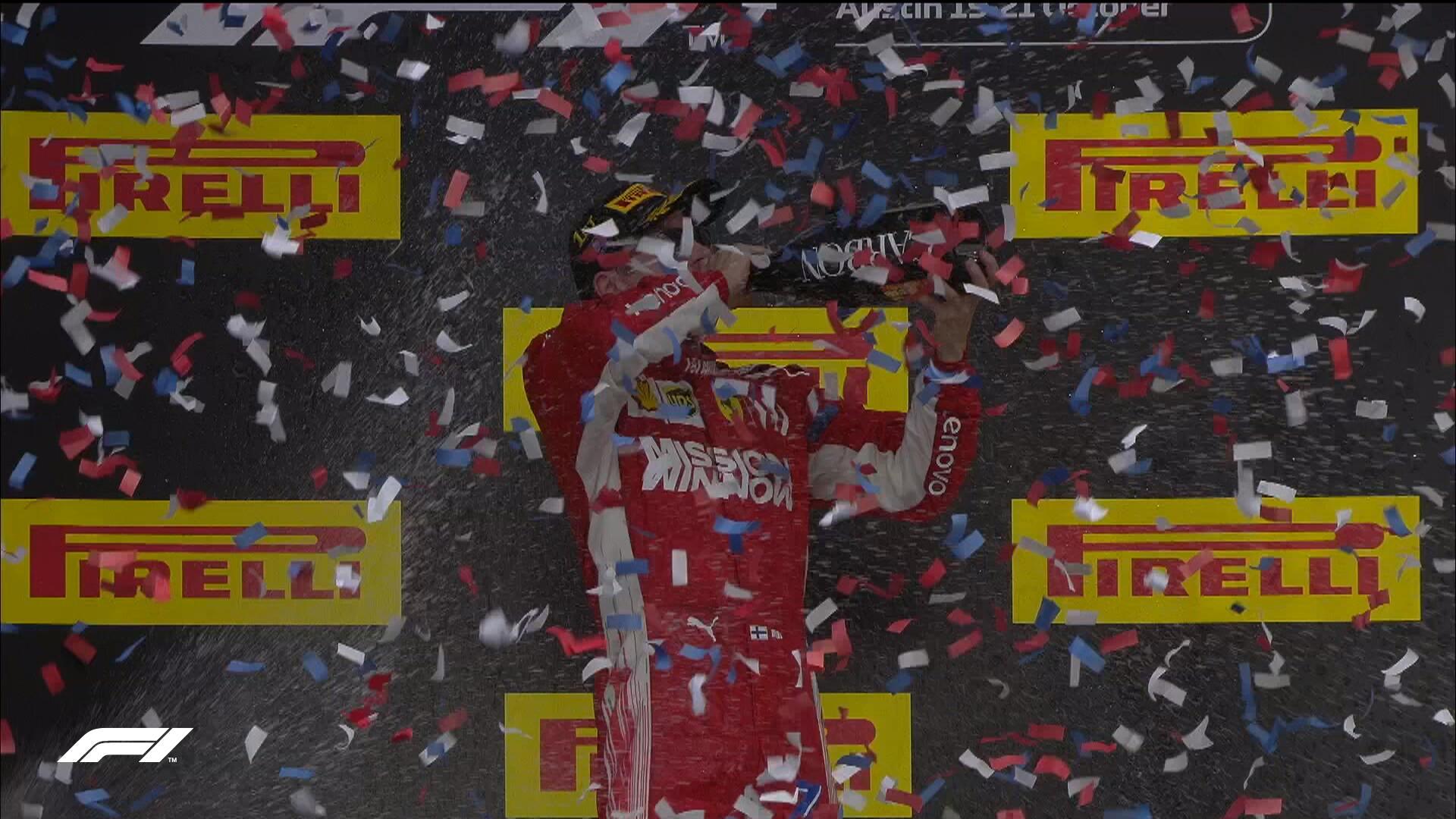 Formula1 САД: Раиконен и Верстапен го спречија крунисувањето на Хамилтон!