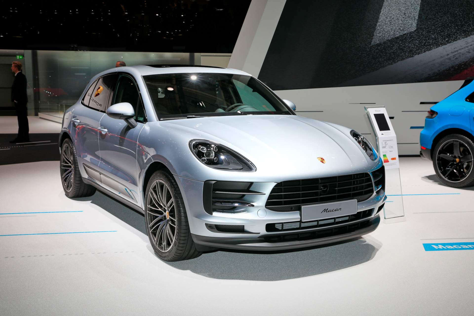2018 Paris Motor Show: Porsche Macan (рестилизација)