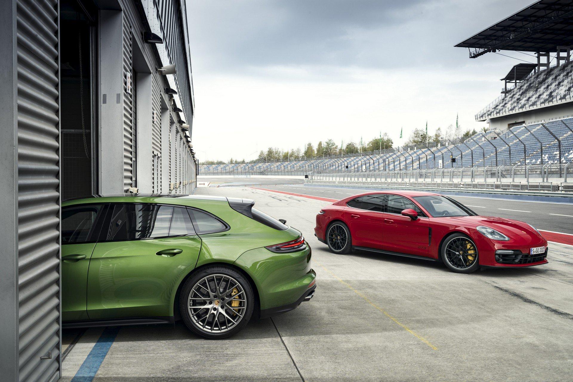 Новитети: Porsche Panamera GTS и Panamera GTS Sport Turismo