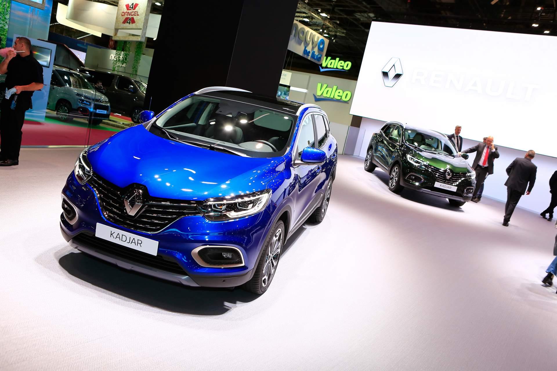 2018 Paris Motor Show: Renault Kadjar (рестилизација)