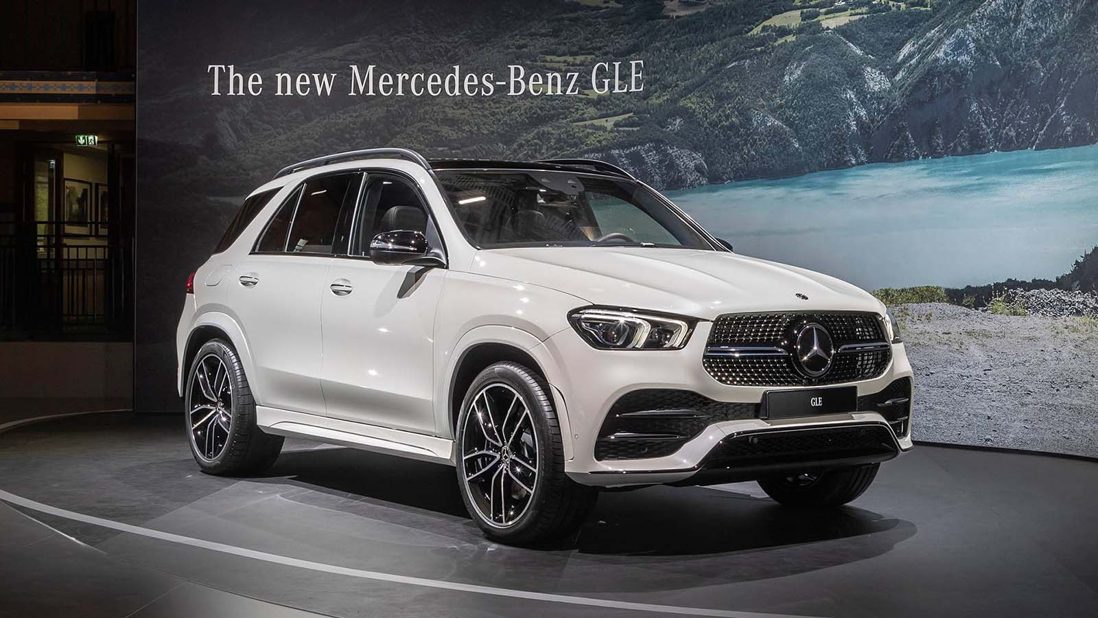 2018 Paris Motor Show: Mercedes GLE