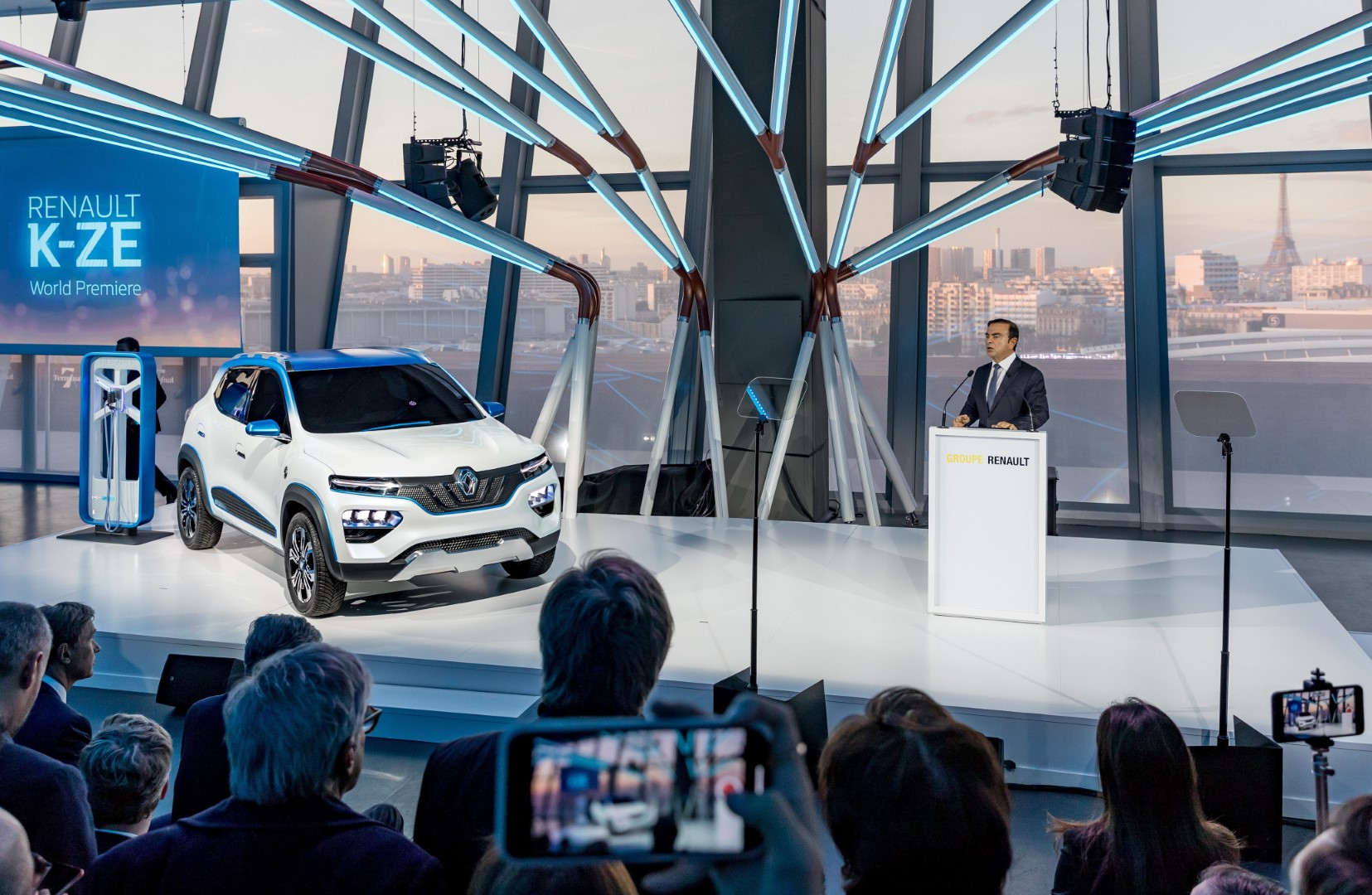 2018 Paris Motor Show: Renault K-ZE Concept