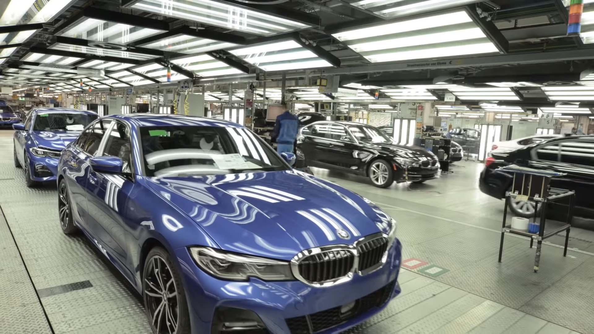 Како се произведува новата BMW Серија 3 / ВИДЕО