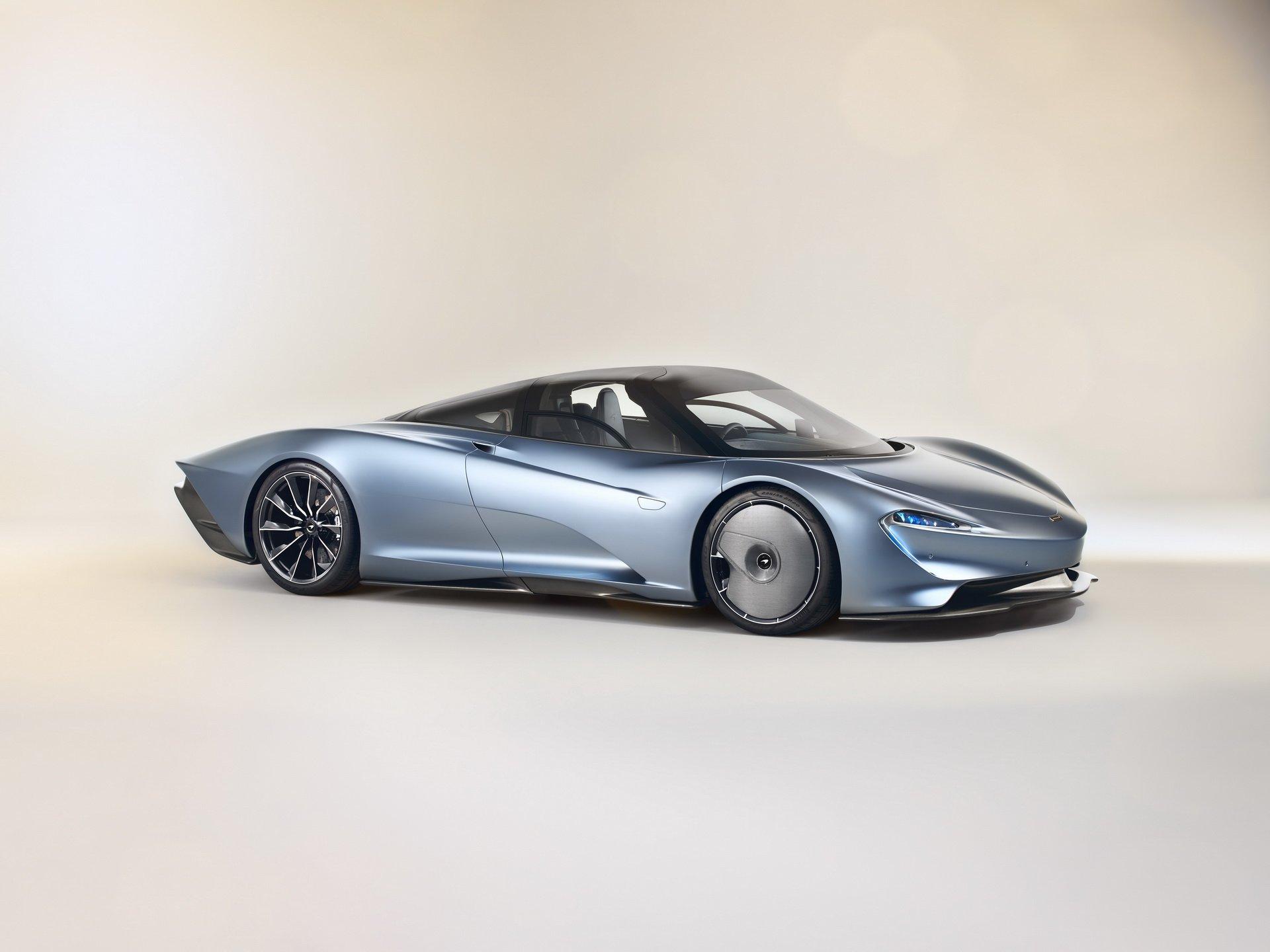 McLaren го претстави Speedtail, новиот модел предводник на брендот / ФОТО