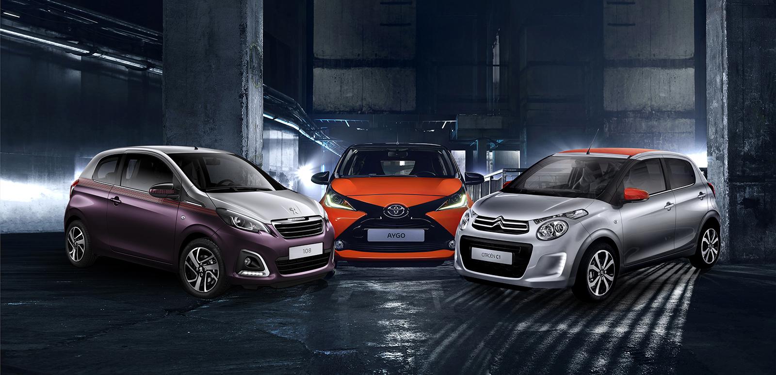 Toyota и PSA го прекинуваат заедничкото производство на моделите Aygo, 108 и С1