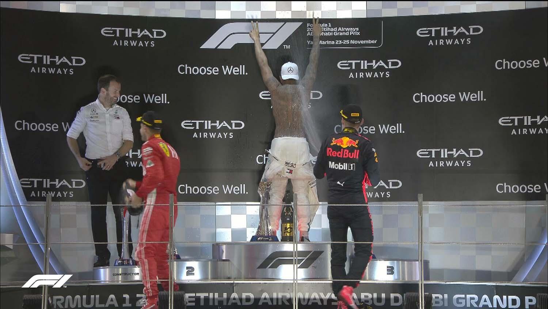 Formula 1: Хамилтон стави печат на сезоната