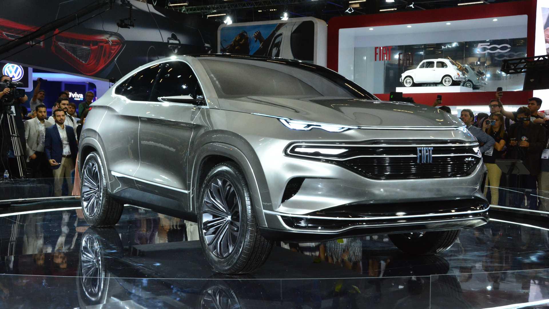 По теркот на BMW и Mercedes: FIAT Fastback Concept / ВИДЕО