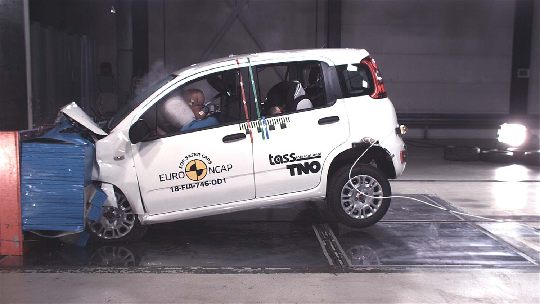 Fiat Panda со нула ѕвездички на Euro NCAP тестирањето