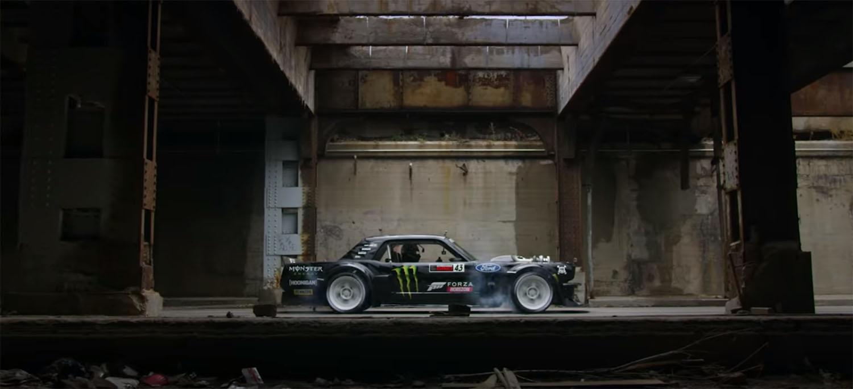 Gymkhana Ten: Пет автомобили и многу уништени гуми