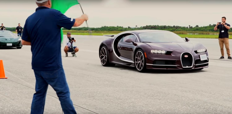 Еве како Bugatti Chiron забрзува до 420 km/h / ВИДЕО